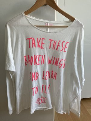 Langarm Shirt mit Aufdruck