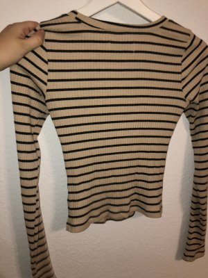 Hollister Top cut-out crema-nero
