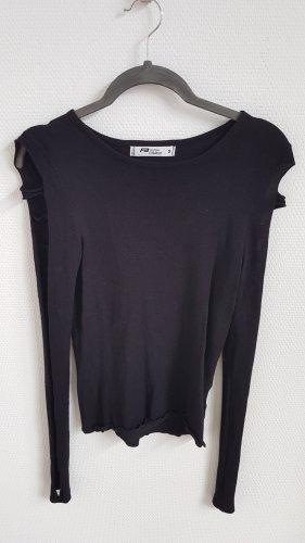 Langarm-Shirt mit Cutout Ärmeln
