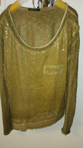 Tunika piaskowy brąz-ciemny żółty