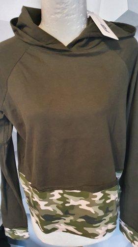 FB Sister Camicia con cappuccio cachi