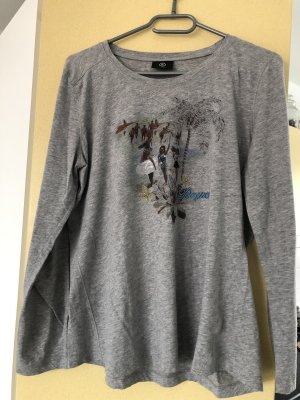 Langarm Shirt mit Print von Bogner