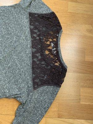 Langarm Shirt mit transparenter Spitze von Superdry