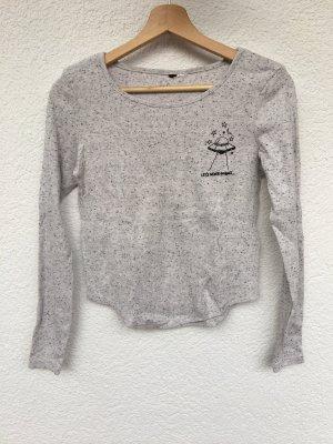 langarm shirt mit ufo-aufdruck von h&m