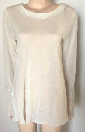 Langarm-Shirt Stefanel Gr. XL beige neu