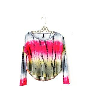 langarm shirt • vintage • batik • bohostyle • hippielook