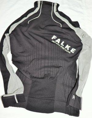 Falke Camisa larga negro-gris claro