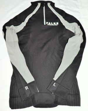 Falke Camisa deportiva negro-gris