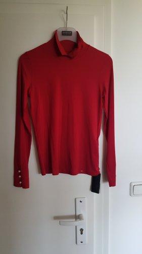 Marc Cain Turtleneck Shirt dark red