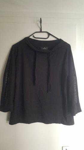 Monari Print Shirt black cotton