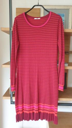 AJC Gebreide jurk veelkleurig Viscose