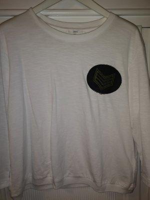 Langarm T-Shirt mit Embleme