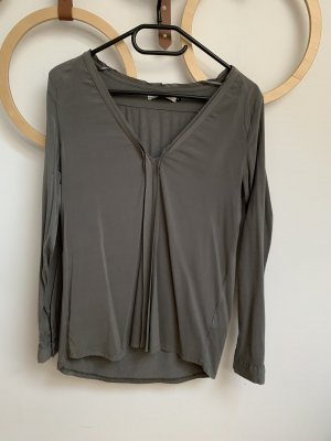 Costes Long Sleeve Blouse green grey