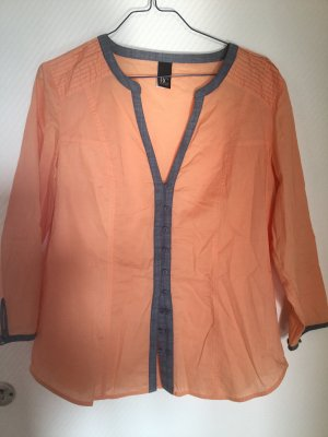Best Connections Long Sleeve Blouse light orange
