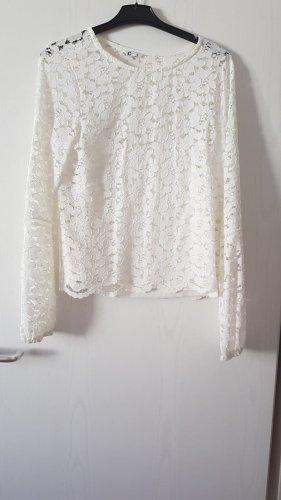 Cubus Camicetta a maniche lunghe bianco