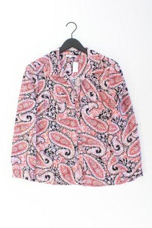 Langarmbluse Größe XL mit Paisleymuster mehrfarbig aus Polyester
