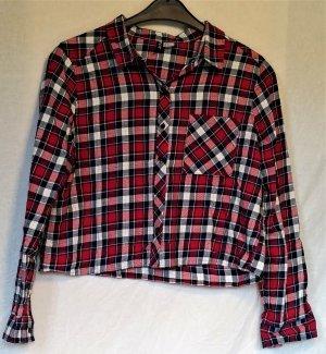 Langarmhemd gecropt