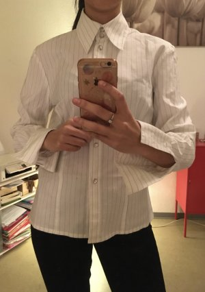 Langarmhemd Hemd Bluse Streifenmuster Streifen