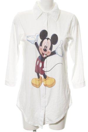 Shirt met lange mouwen prints met een thema casual uitstraling