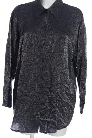 Langarmhemd schwarz Casual-Look