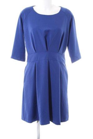 Lanti Langarmkleid blau Business-Look