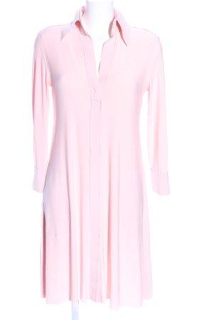 Langarmkleid pink Casual-Look