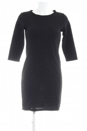 Freequent Langarmkleid schwarz Elegant