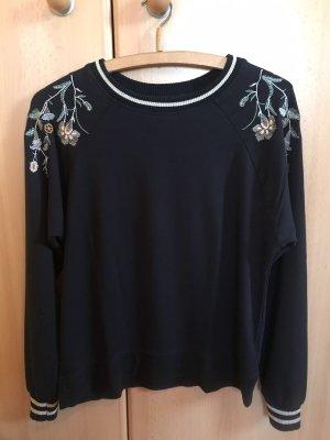 Langarmpulli Sweater Stickerei