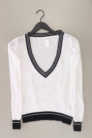 Long Sweater natural white cotton