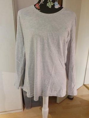 Basic T-shirt grigio chiaro-grigio