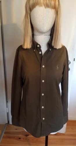 Ralph Lauren Polo shirt olijfgroen-khaki