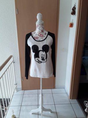 Disney Basic Shirt white-black