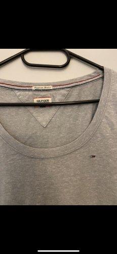 Tommy Hilfiger Denim Camicia lunga grigio chiaro-grigio