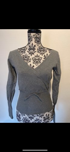 WE Fashion Wraparound Shirt grey