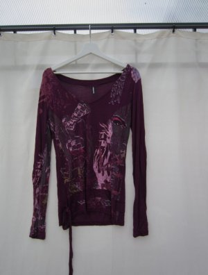 Madonna Camicia lunga viola