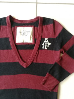 Abercrombie & Fitch Long Sweater bordeaux-dark blue