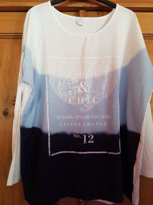 Alba Moda Koszulka z długim rękawem Wielokolorowy Wiskoza