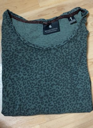 Langarmshirt Animalprint Maison Scotch Gr.36/38
