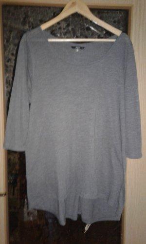 Only Camicia lunga antracite-grigio scuro