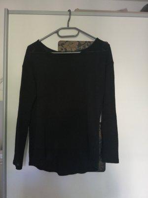 Tally Weijl Crochet Shirt black