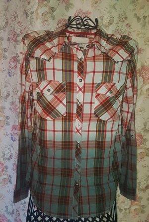 Camisa de manga larga multicolor Algodón