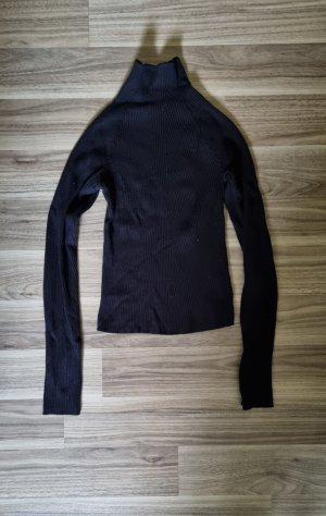 Bershka Koszulka z golfem czarny