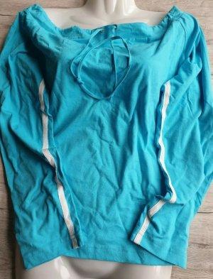 Langarmshirt blau Größe 44