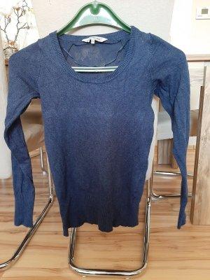 Langarmshirt, blau mit Spitze am Rücken (Preis inkl. Versand)
