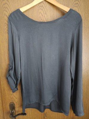 Velvet Camicetta a maniche lunghe grigio scuro