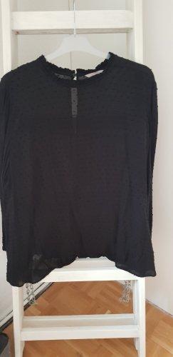 Langarmshirt Bluse schwarz H&M Gr. 52
