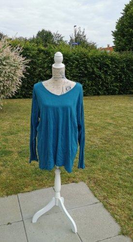 Bon Prix V-hals shirt blauw