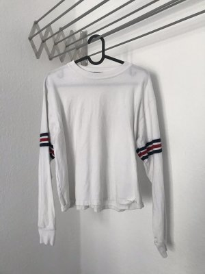 Brandy & Melville Camicia cropped bianco