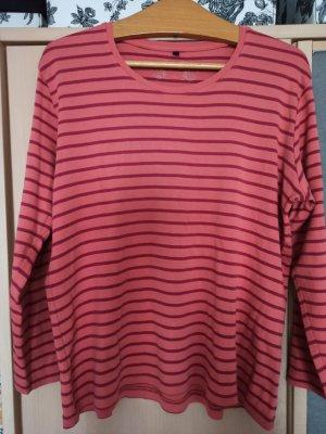Adler Stripe Shirt salmon-dark red