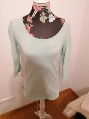 Ann Christine Stripe Shirt light blue-turquoise